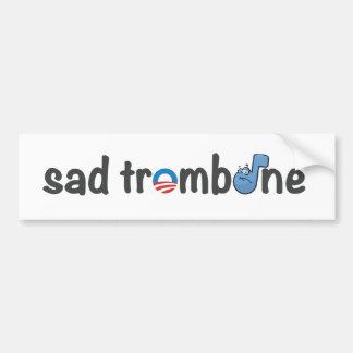 Sad Trombone Obama Music Humor Meme Bumper Sticker