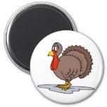 Sad Turkey Magnet