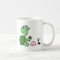 Sad Turtle Happy Ant Coffee Mug
