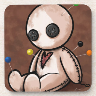 Sad Voodoo Doll Coaster