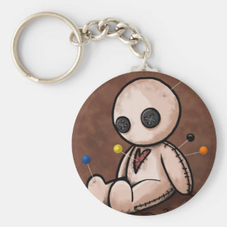 Sad Voodoo Doll Keychain