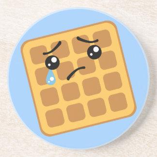 Sad Waffle Drink Coaster