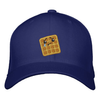 Sad Waffle Embroidered Baseball Hat