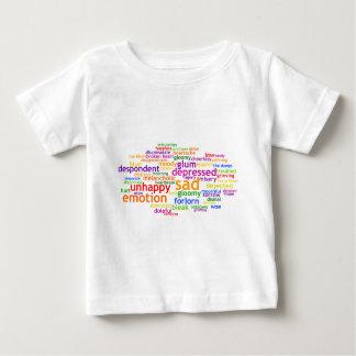 Sad Wordle Baby T-Shirt