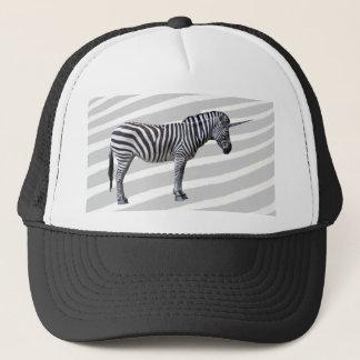 Sad Zebra Unicorn Hat