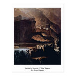 Sadak In Search Of The Waters By John Martin Post Cards