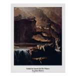 Sadak In Search Of The Waters By John Martin Poster