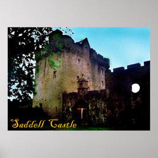 saddell castle print