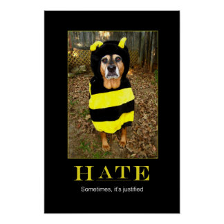 Saddest Bee Motivational Poster