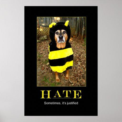 Saddest Bee Motivational Poster