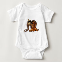 Saddle and Boots Baby Bodysuit