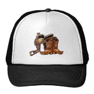 Saddle and Boots Hat