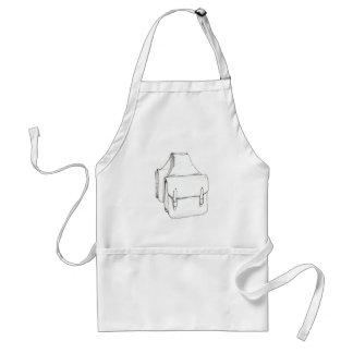 Saddle Bags Adult Apron