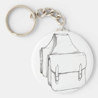 Saddle Bags Keychain
