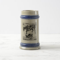 Saddle Bronc Beer Stein