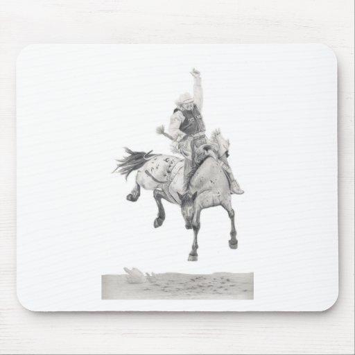 Saddle Bronc Mouse Pad