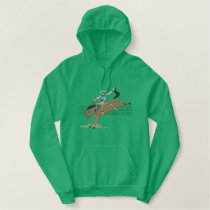 Saddle Bronc Rider Embroidered Hoodie