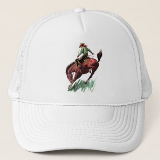 Saddle Bronc Riding Trucker Hat