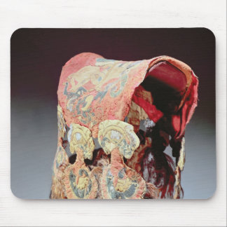 Saddle Cover with griffins attacking goats Mouse Pad