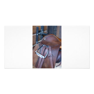 Saddle Custom Photo Card