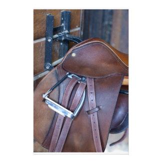 Saddle Custom Stationery