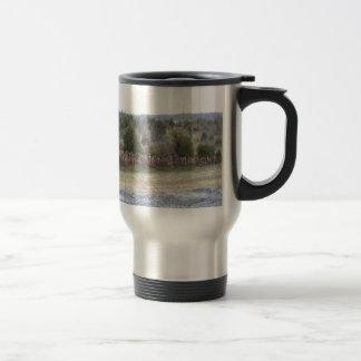 Saddle Dam View Travel Mug