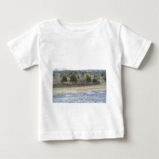 Saddle Dam View Shirts
