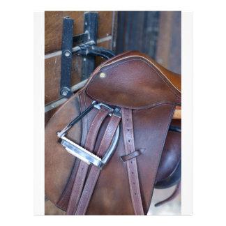 Saddle Letterhead Design
