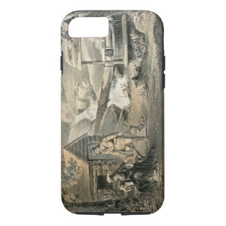 'Saddle Mending', for 'Davy Crockett' starr iPhone 8/7 Case
