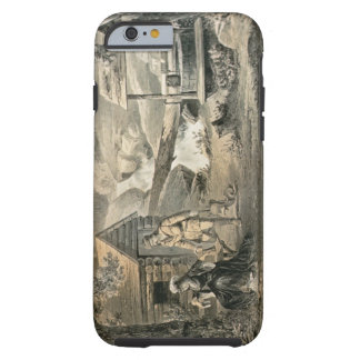 'Saddle Mending', for 'Davy Crockett' starr Tough iPhone 6 Case