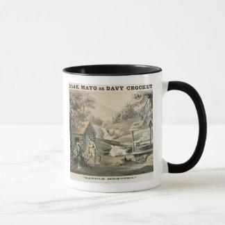 'Saddle Mending', Poster for 'Davy Crockett' starr Mug