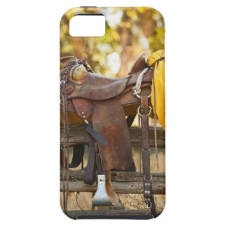 Saddle on fence iPhone SE/5/5s case