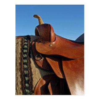 Saddle Postcard