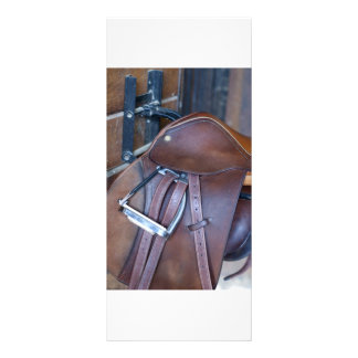 Saddle Rack Card Template