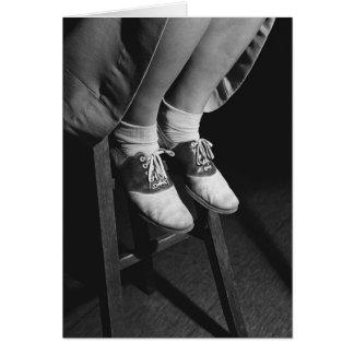 Saddle Shoes, 1934 Card