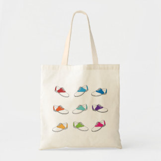 Saddle Shoes in Color Tote Bag