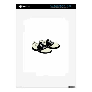 Saddle Shoes iPad 3 Skins