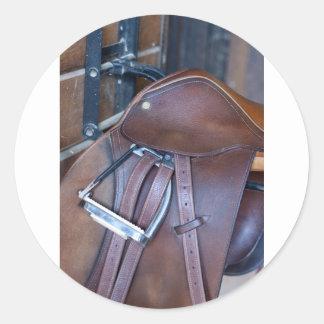 Saddle Sticker