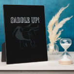 Saddle Up 2 Display Plaques