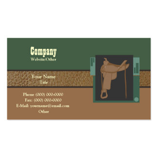 Saddle up Double-Sided standard business cards (Pack of 100)