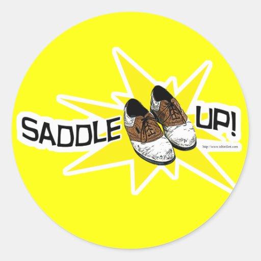 Saddle Up! Classic Round Sticker
