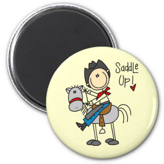 Saddle Up Cowboy Tshirts and Gifts Magnet
