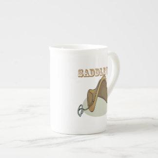 Saddle Up Porcelain Mugs