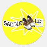 Saddle Up! Sticker