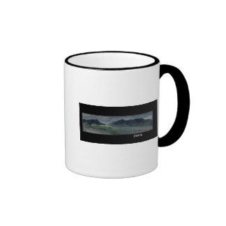 Saddleback and Part of Skiddaw Ringer Coffee Mug