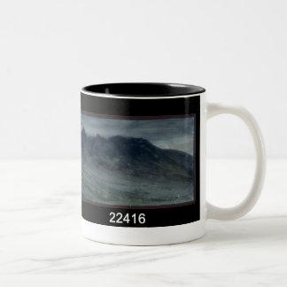 Saddleback and Part of Skiddaw Two-Tone Coffee Mug
