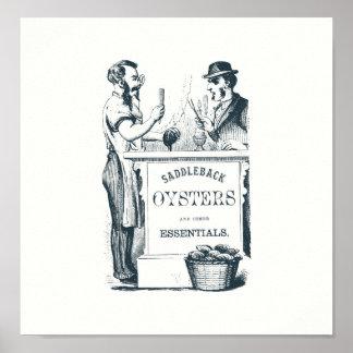 Saddleback Oysters Print