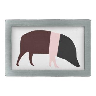 Saddleback Pig Belt Buckle