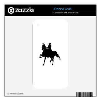 SADDLEBRED AND RIDER DECAL FOR iPhone 4S