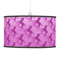 Saddlebred Foal Flowers Orchid Pendant Lamps